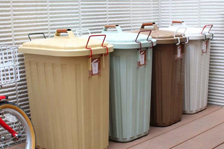 蓋付きゴミ箱 ペール×ペール