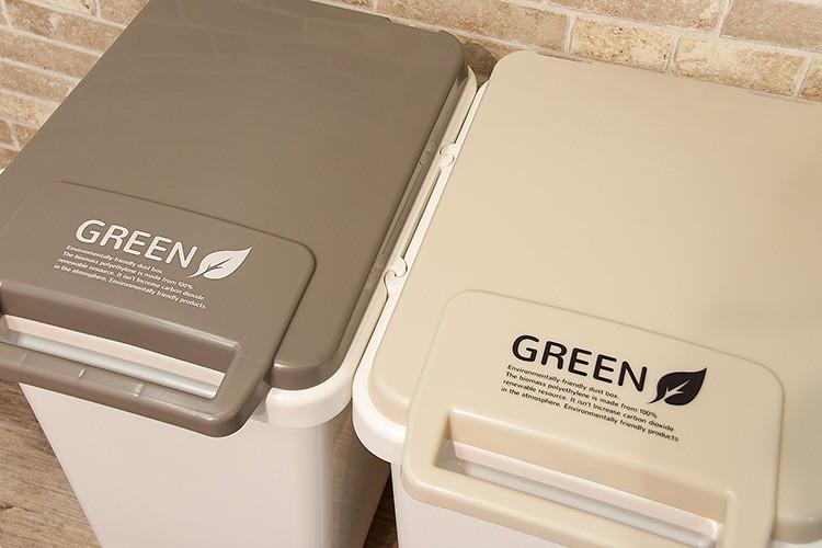 ふた付き ゴミ箱 エコ コンテナスタイル
